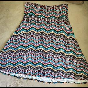 LuLaRoe Azure- size L- worn once!